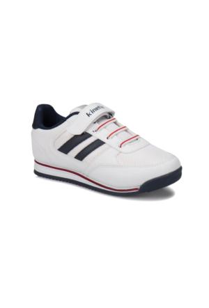 Kinetix Tramor Beyaz Lacivert Kırmızı Erkek Çocuk Sneaker Ayakkabı