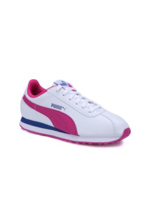 Puma Puma Turın Jr Beyaz Mor Kız Çocuk Sneaker Ayakkabı