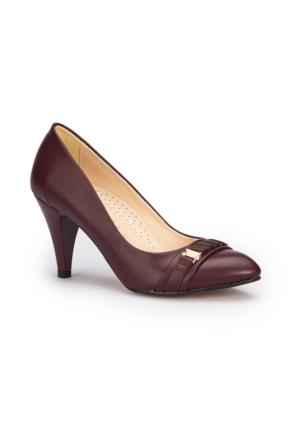 Polaris 71.309770.Z Bordo Kadın Ayakkabı