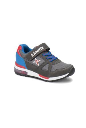Kinetix Rıvero Koyu Gri Saks Kırmızı Erkek Çocuk Sneaker Ayakkabı