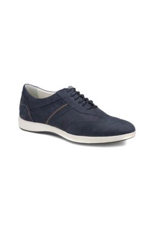 Flogart 144 M 1413 Lacivert Erkek Deri Modern Ayakkabı