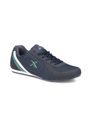 Kinetix Aıdan Lacivert Koyu Yeşil Erkek Sneaker Ayakkabı