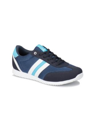 Kinetix Avıla M Mesh Lacivert Beyaz Mavi Erkek Sneaker Ayakkabı