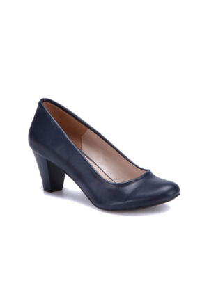 Miss F N16036 Lacivert Kadın Gova Ayakkabı