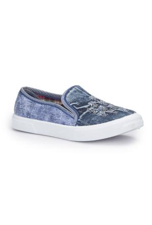 Polaris 71.354918.Z Mavi Kadın Ayakkabı