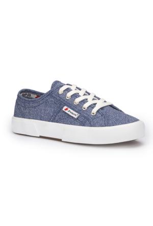Polaris 71.354933.Z Mavi Kadın Ayakkabı