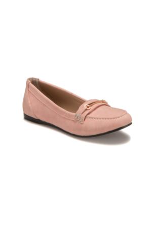 Miss F Ds17035 Pembe Kadın Loafer Ayakkabı