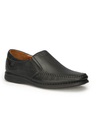 Polaris 5 Nokta 71.105517.M Siyah Erkek Deri Ayakkabı
