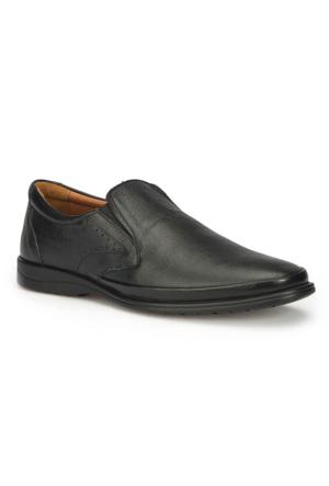 Polaris 5 Nokta 71.109950.M Siyah Erkek Deri Ayakkabı