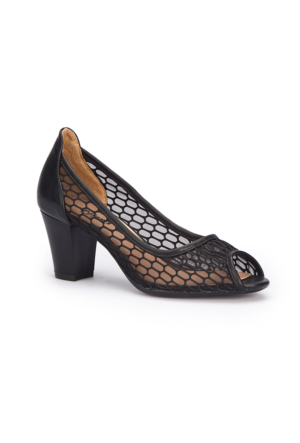Polaris 71.308350.Z Siyah Kadın Ayakkabı
