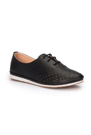 Polaris 71.308608.Z Siyah Kadın Ayakkabı