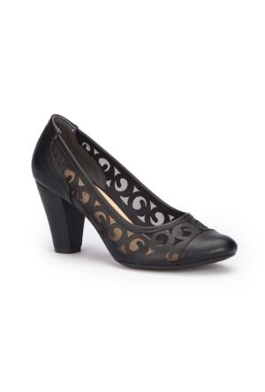 Polaris 71.309768.Z Siyah Kadın Ayakkabı
