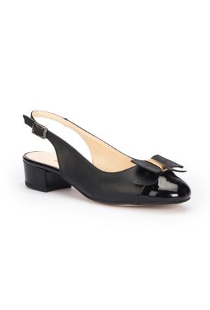 Polaris 71.309782.Z Siyah Kadın Sandalet