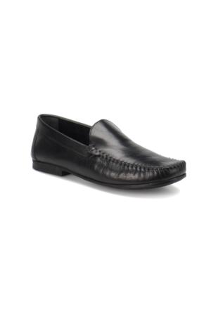 Flogart Erl-1 M 1453 Siyah Erkek Deri Klasik Ayakkabı