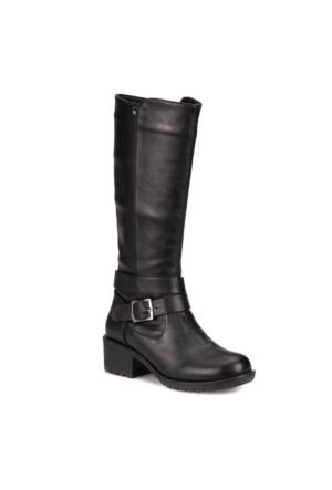 Kinetix A1306483 Siyah Kadın Basic Casual Çizme