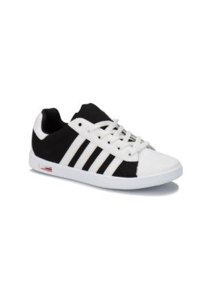 Kinetix Vulda Siyah Beyaz Erkek Çocuk Sneaker Ayakkabı