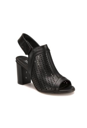 Miss F 304080 Siyah Kadın Ayakkabı 402