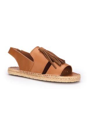 Polaris 71.310190.Z Taba Kadın Sandalet