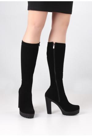 Erbilden Stk-Erb Siyah Kadın Çorap Çizme