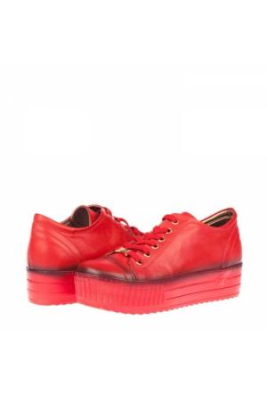 Mammamıa Kadın Hakiki Deri Platform Ayakkabı