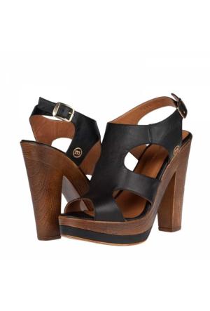 Mammamıa Kadın Platform Topuklu Sandalet