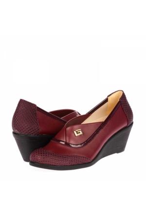 Palmiye Kadın Dolgu Topuklu Ayakkabı