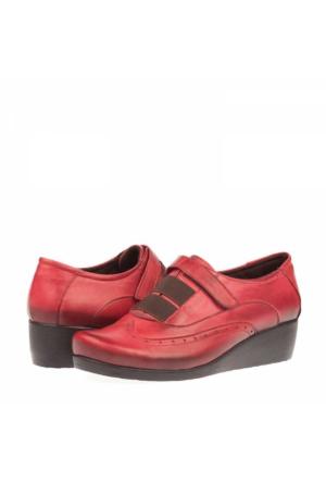 Derimiss Kadın Dolgu Topuklu Ayakkabı