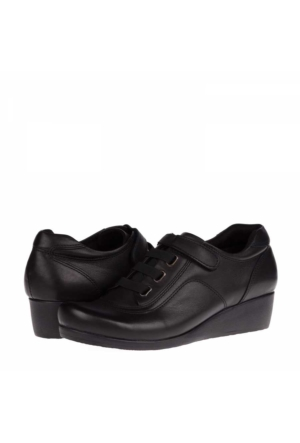 Derimiss Kadın Hakiki Deri Dolgu Topuklu Ayakkabı