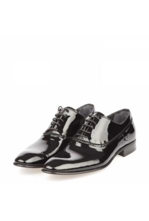 Karabacak Erkek Hakiki Deri Oxford Ayakkabı
