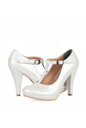 Aktenli Kadın Platform Topuklu Ayakkabı