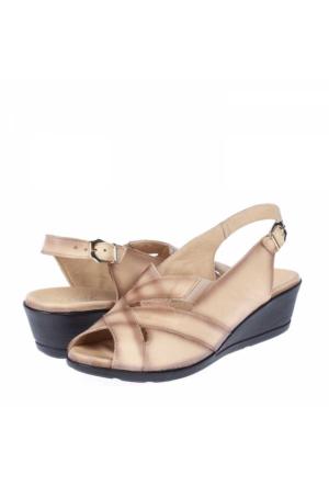 Belox Kadın Dolgu Topuklu Sandalet