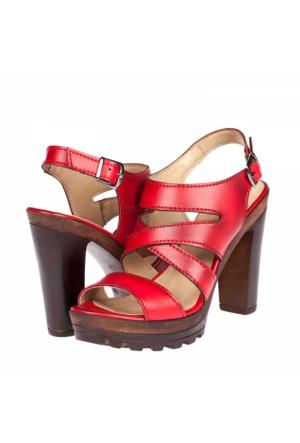 Traum Kadın Platform Topuklu Sandalet