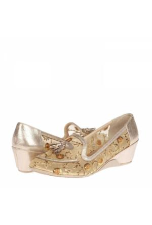 Flor Kadın Dolgu Topuklu Ayakkabı