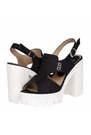 Flor Kadın Platform Topuklu Sandalet
