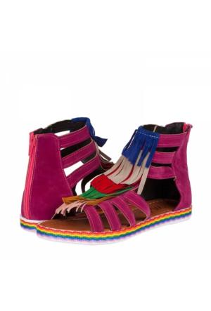 Melisa Kadın Düz Sandalet