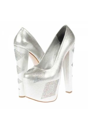 Prımo Passo Kadın Platform Topuklu Ayakkabı