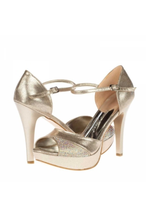 Prımo Passo Gelin Platform Topuklu Ayakkabı
