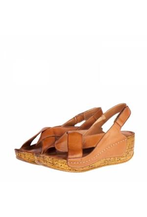 Derimiss Kadın Dolgu Topuklu Sandalet