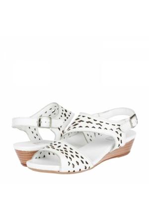Zeyn Kadın Dolgu Topuklu Sandalet