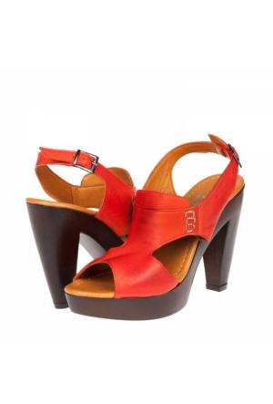 Zeyn Kadın Platform Topuklu Sandalet