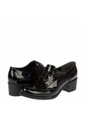 Yarımelma Kadın Bağcıklı Ayakkabı