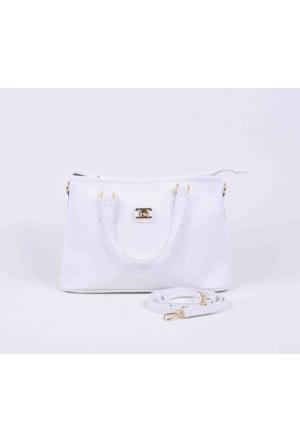 Pierre Cardin Çanta Beyaz Tonlu 65533