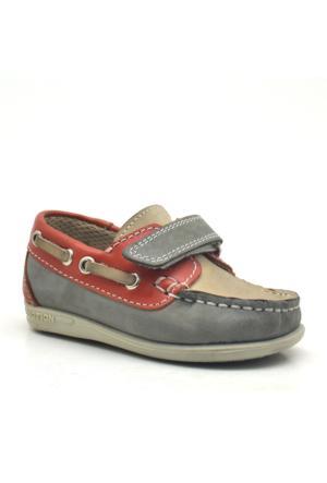 Raker® Hakiki Deri Cırtlı Erkek Bebek Ayakkabısı