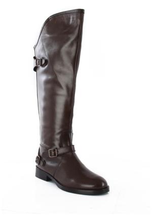 Piamia Kadın Çizme 34002 Kahve Antik