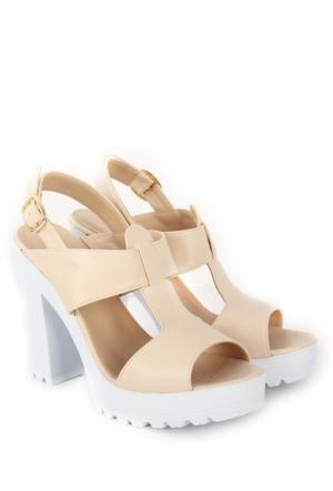 Gön Kadın Sandalet 36133 Bej