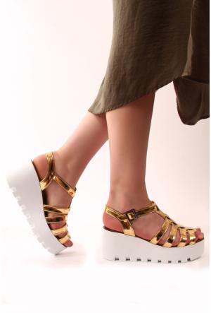Gön Kadın Sandalet 53557 Dore Rugan