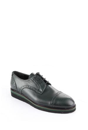 Gön Haki Antik Deri Erkek Ayakkabı 88132