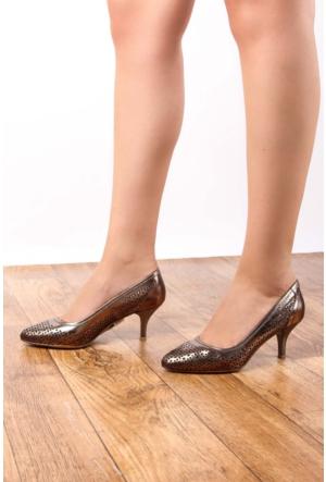 Gön Deri Kadın Ayakkabı 22383