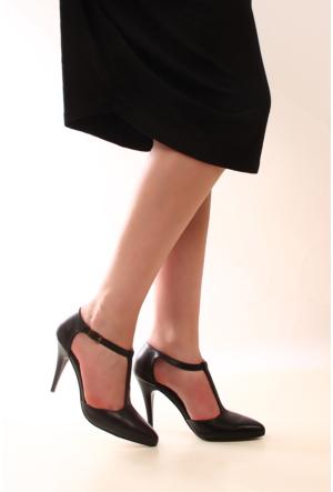 Gön Deri Kadın Ayakkabı 22012