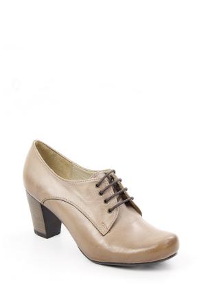Gön Vizon Antik Deri Kadın Ayakkabı 22372